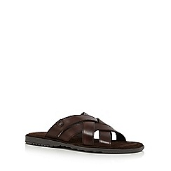 Base London - Brown leather 'Apollo' sandals