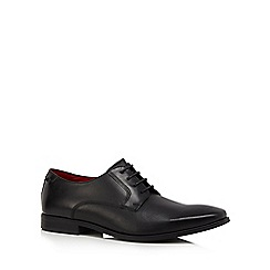 Base London - Black leather 'Charles' Derby shoes