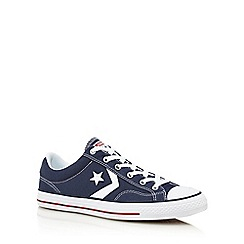 Converse - Navy 'Star Player' canvas shoes