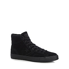 Converse - Black 'Star Player' high top trainers