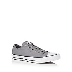 Converse - Grey canvas 'All Star' lace up shoes
