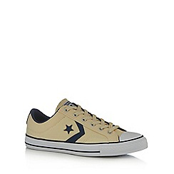 Converse - Natural canvas 'All Star' trainers