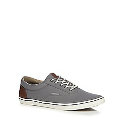 Jack & Jones - Grey canvas 'Vision' trainers