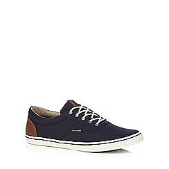 Jack & Jones - Navy 'Vison' trainers