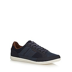 Jack & Jones - Navy 'Belmont' trainers