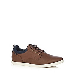 Jack & Jones - Brown 'Vaspa' trainers