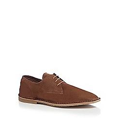 Jack & Jones - Brown suede desert shoes