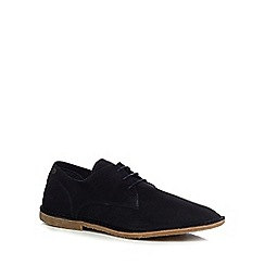 Jack & Jones - Navy suede desert shoes