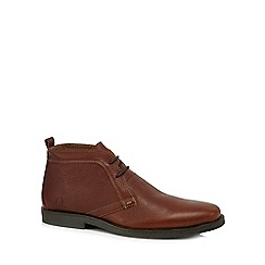 Chatham Marine - Brown leather Desert boots