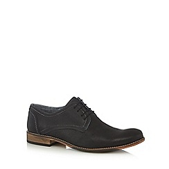Lotus Since 1759 - Black leather 'Hanbury' Oxford shoes