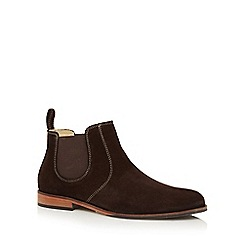 Lotus Since 1759 - Dark brown suede 'Bradford' Chelsea boots