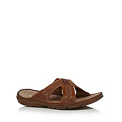 Lotus Since 1759 - Brown 'Murdoch' cross over sandals