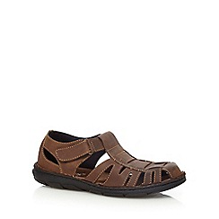 Lotus Since 1759 - Brown 'Walsh' cut-out sandals
