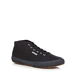 Superga - Black canvas 'Cotu Classic' trainers