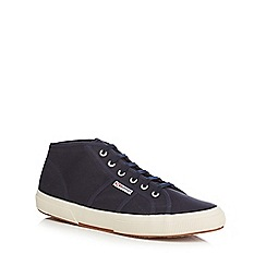 Superga - Navy canvas 'Cotu Classic' trainers