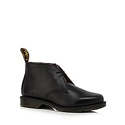Dr Martens - Black leather 'Sawyer' Desert boots