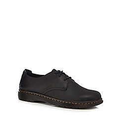 Dr Martens - Black leather 'Elsfield 3' shoes