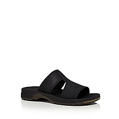 Dr Martens - Black 'Quay' slip-on sandals