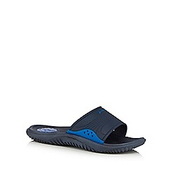 Rider - Navy slip on sandals