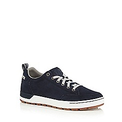 Caterpillar - Blue 'Evasion' suede trainers