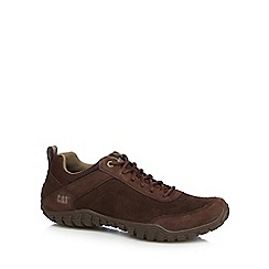 Caterpillar - Dark brown suede 'Arise' trainers