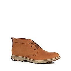 Caterpillar - Tan leather 'Ease' chukka boots