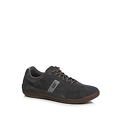 Caterpillar - Blue suede 'Mullan' lace up trainers