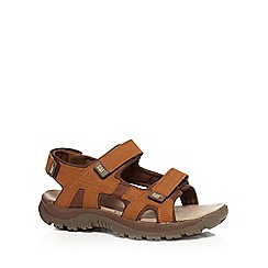Caterpillar - Tan 'Giles' sandals