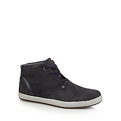 Caterpillar - Grey suede lace up boots