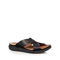 Clarks - Back leather 'Trisande' sandals
