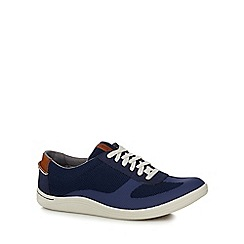Clarks - Navy 'Mapped Vibe' trainers
