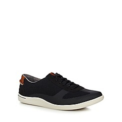 Clarks - Black 'Mapped Vibe' trainers