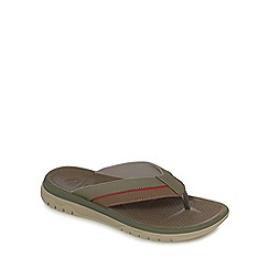 Clarks - Grey 'Balta Sun' flip flops