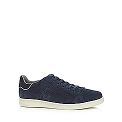 Geox - Navy suede 'Warrens' trainers