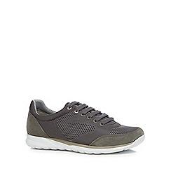 Geox - Dark grey 'Damian' trainers
