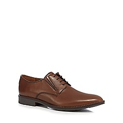 Hush Puppies - Brown leather 'Bronson' lace up shoes