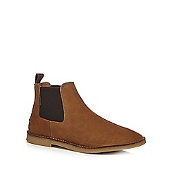 Hush Puppies - Tan 'Selby' Chelsea boots