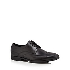 Rockport - Black leather brogues