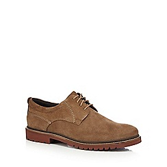 Rockport - Beige suede Derby shoes