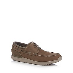 Rockport - Brown 'Landon' boat shoes