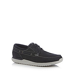 Rockport - Blue 'Landon' boat shoes