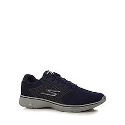 Skechers - Navy 'Go Walk 4' trainers