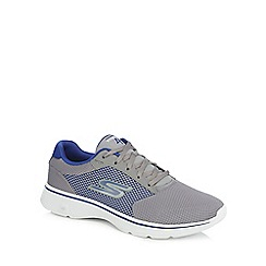 Skechers - Grey 'SK Go 4 Walk' trainers