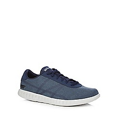 Skechers - Navy 'On the Go Glide' trainers