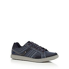 Skechers - Navy 'Lanson' trainers