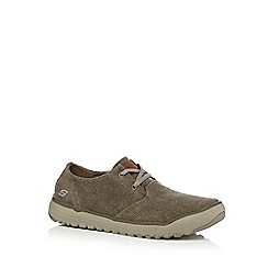 Skechers - Taupe 'Oldis' trainers