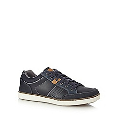 Skechers - Navy 'Lanson Rometo' lace up trainers