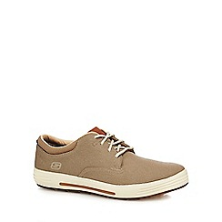 Skechers - Blue 'Porter Zevelo' lace up trainers