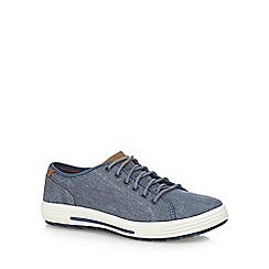 Skechers - Navy 'Porter Mento' lace up trainers