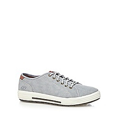 Skechers - Blue 'Porter Meteno' lace up trainers